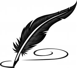 Quill clipart composition writing