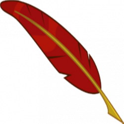 Quill clipart mark