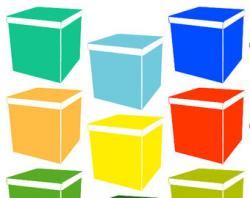 Container clipart cardboard