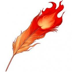 Quill clipart phoenix feather