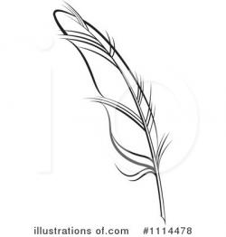Quill clipart simple feather