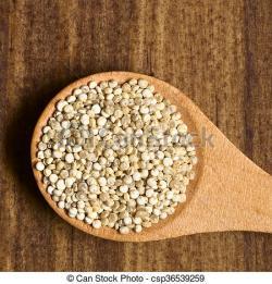 Quinoa clipart raw