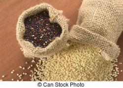 Quinoa clipart sack