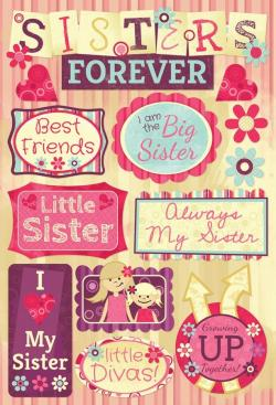 Pink Dress clipart only sister
