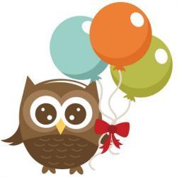 Barred Owl clipart cute cartoon