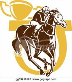 Horse Racing clipart melbourne cup