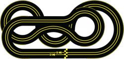 Racer clipart race track road