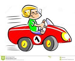 Racer clipart fast car