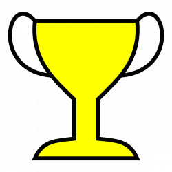 Racer clipart winner cup