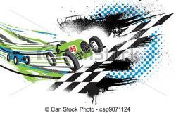 Racer clipart acceleration