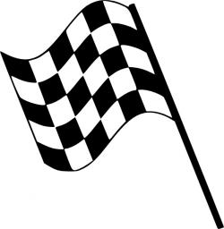 Checkerboard clipart checkered flag