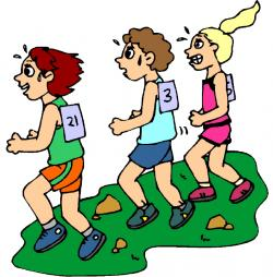 Racing clipart cross country running