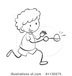 Race clipart egg and spoon race