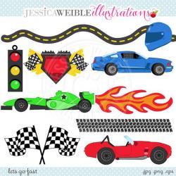 Hot Wheels clipart race car