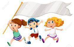 Race clipart kids marathon