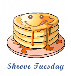 Race clipart pancake day