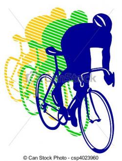 Pushbike clipart cycle race
