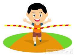 Race clipart runner