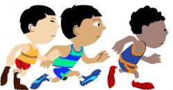 Race clipart running club