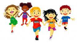 Sport clipart kids run