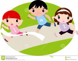 Race clipart running race