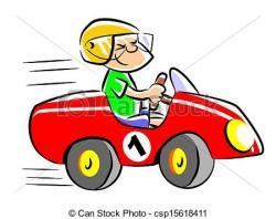 Race Car clipart car driving