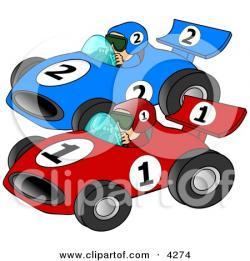 Race Car clipart speedway
