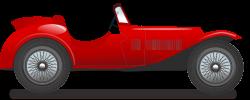 Classic Car clipart racing car