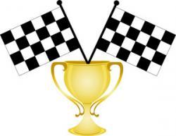 Race clipart trophy