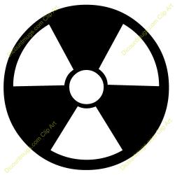 Radioactive clipart radiation