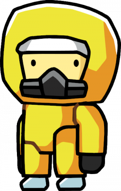 Radiation clipart hazmat suit