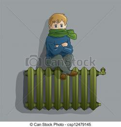 Radiator clipart old style