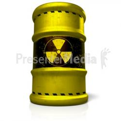 Radioactive clipart barrel