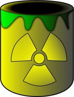 Toxic clipart radioactive
