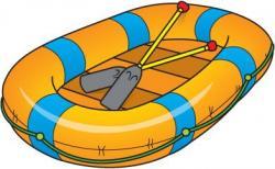 Raft clipart waterways transport