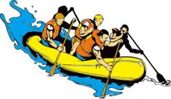 Raft clipart water vehicle