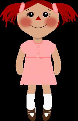 Dall clipart rag doll