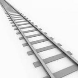 Rails clipart train line