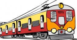 Train Station clipart passenger train