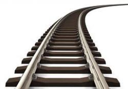 Rails clipart railroad track