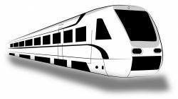 Railways clipart fast train