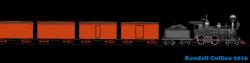 Railways clipart freight train