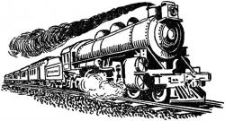 Railways clipart front