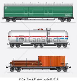Train clipart freight train