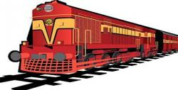 Railways clipart indian railway