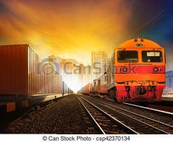 Railways clipart land transportation