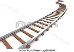 Rails clipart train road