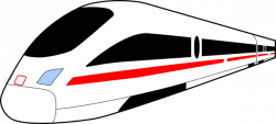 Underground clipart modern train