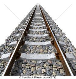 Rails clipart rail transport