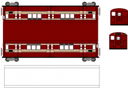 Railways clipart subway car